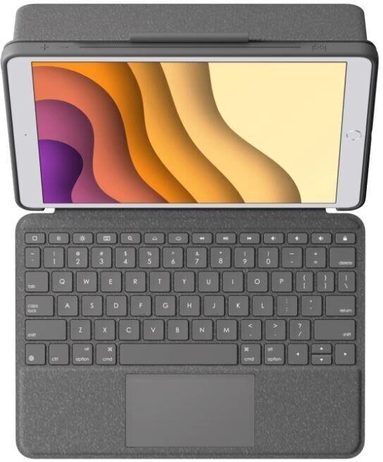 Клавиатура Logitech Combo Touch for iPad Air / iPad Pro Black
