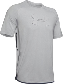 Under Armour Unstoppable Move T-Shirt 1345549-011 Light Grey XXL