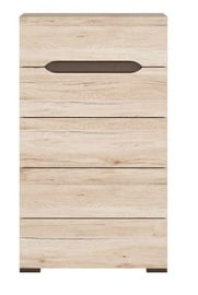 Black Red White Elpasso 41x60cm San Remo Oak