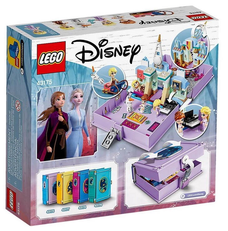 Конструктор LEGO Disney Frozen II Anna Ad Elsas Storybook Adventures 43175, 133 шт.