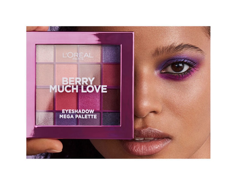 L´Oreal Paris Berry Much Love Eyeshadow Pallete 17g
