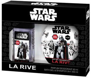 La Rive Star Wars First Order 80ml Parfum Deodorant + 250ml Bath Gel & Shampoo 2 in 1