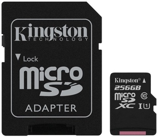 Kingston Canvas Select microSDXC 256GB UHS-I Class 10 + SD Adapter