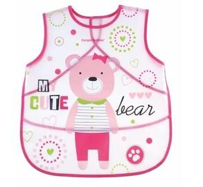 Canpol Babies Soft Waterproof Apron Puppets 9/236 Pink