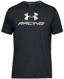 Under Armour T-Shirt Racing 1313246-001 Black XXL