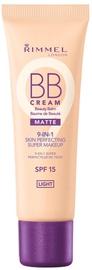 Rimmel London BB Cream Matte 9in1 SPF15 30ml Light