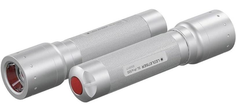 Ledlenser Flashlight LED Silver
