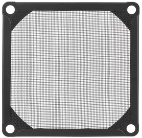 SilverStone Filter Aluminum 140mm Black