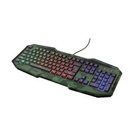 Žaidimų klaviatūra Trust GXT 830 EN