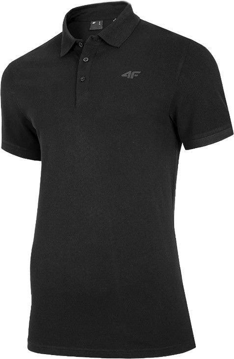 Рубашка поло 4F, черный, M