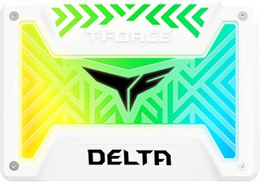 Team Group Delta RGB SSD 500GB White