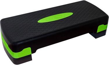 SportVida Universal Aerobic Fitness 2 Grade Stepper Board Green/Black