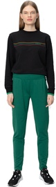 Audimas Slim Fit Stretch Sweatpants With Cotton Evergreen 160/M