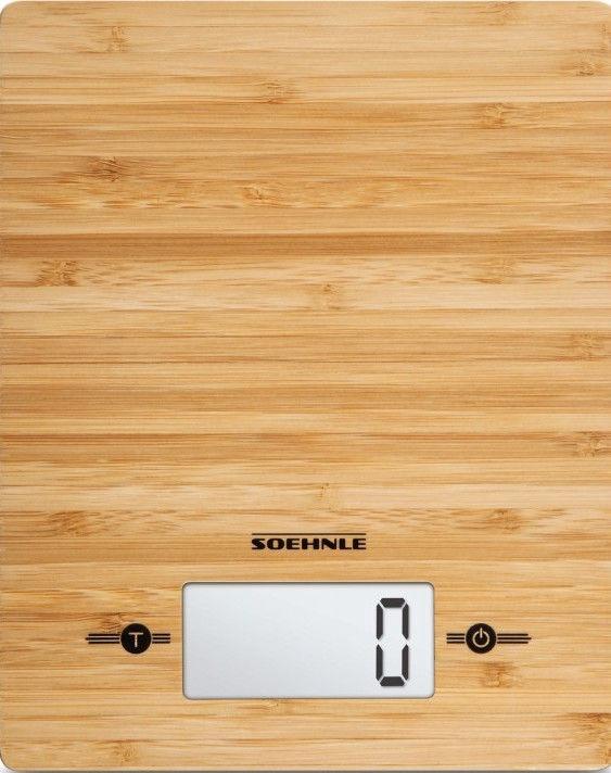 Elektrooniline köögikaal Soehnle Bamboo, pruun