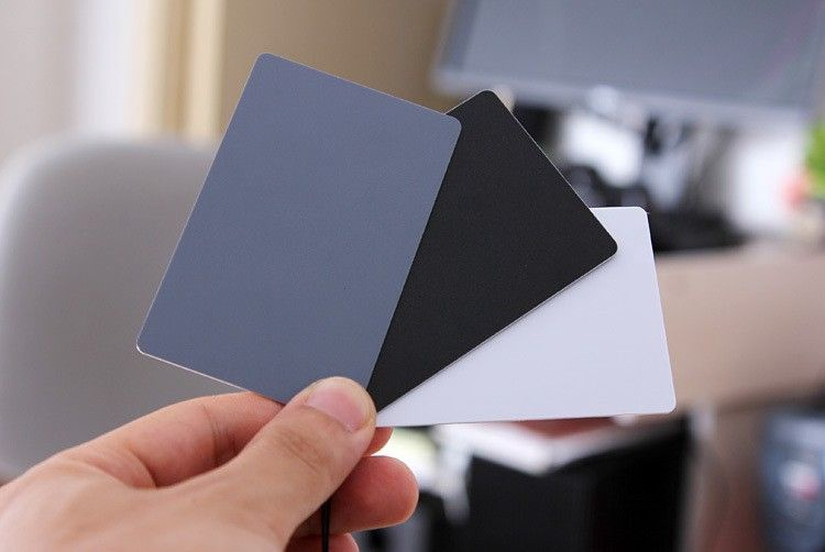 Fotocom White Balance Card Set 3pcs