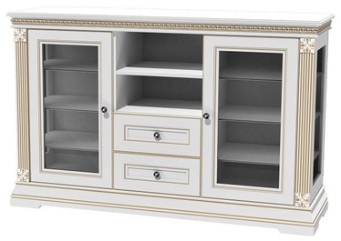 MN Chest Of Drawers K2 150 White/Gold