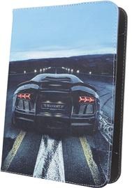 "GreenGo Black 7-8"" Universal Tablet Case"