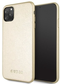 Guess Glow In The Dark Back Case For Apple iPhone 11 Pro Max Gold