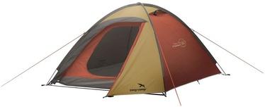 Trīsvietīga telts Easy Camp Meteor 300 120358, sarkana