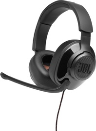 Ausinės JBL Quantum 300 Over-Ear Gaming Black