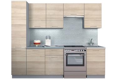 Virtuvės baldų komplektas MN Simpl Shimo Light, 2.5 m