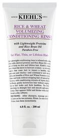 Plaukų kondicionierius Kiehls Rice & Wheat Volumizing Conditioning Rinse, 200 ml