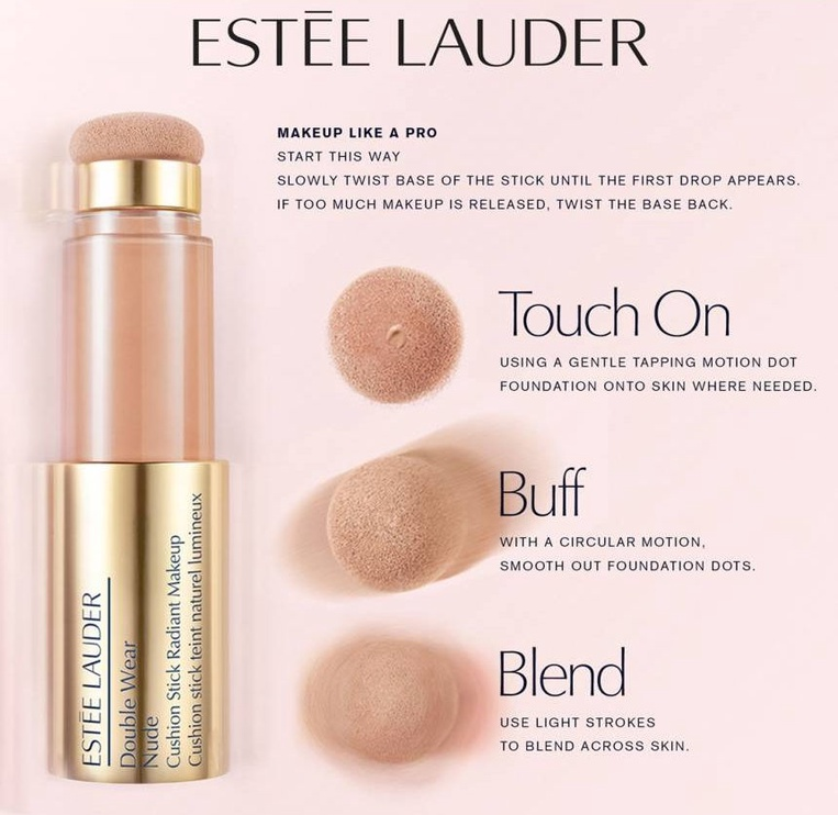 Estee Lauder Double Wear Nude Cushion Stick Radiant Makeup 14ml 1N2