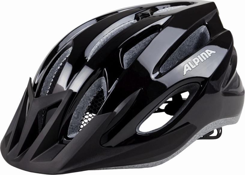 Шлем Alpina MTB17, черный, 580 - 610 мм