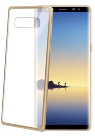 Celly Laser Back Case For Samsung Galaxy Note 8 Gold