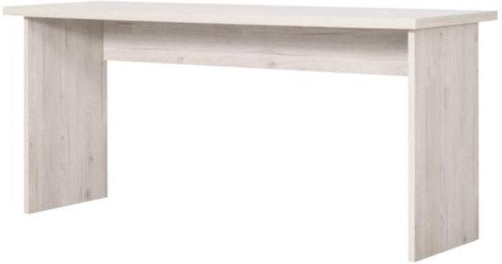 Rakstāmgalds Bodzio MB40, balta/smilškrāsas