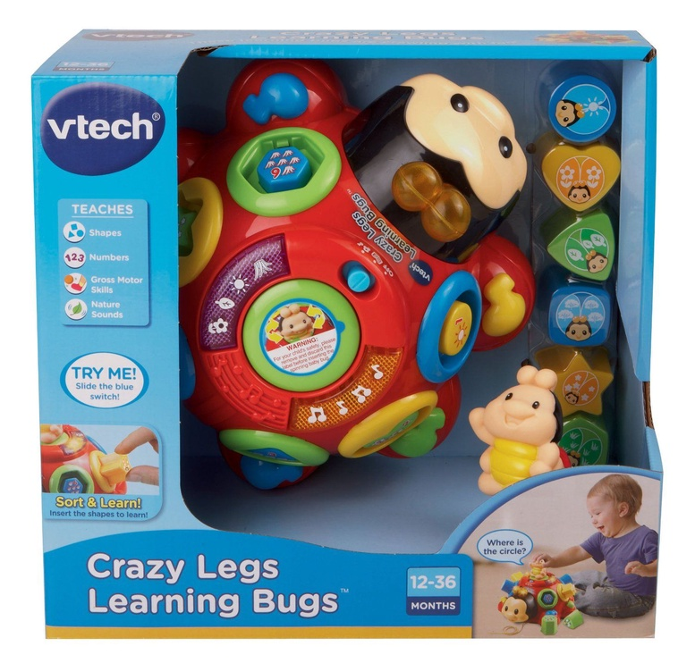 VTech Crazy Legs Learning Bugs