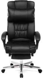 Офисный стул Songmics Office Chair Office Chair With Footrest, черный