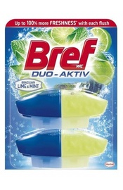 Henkel Bref Duo Aktiv Lime&Mint Toilet Block 2x50ml