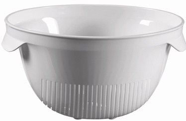 Curver Plastic Colander Kitchen Essentials Gray