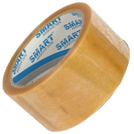 SMART Adhesive Packing Tape Solvent 25mm 60m Transparent