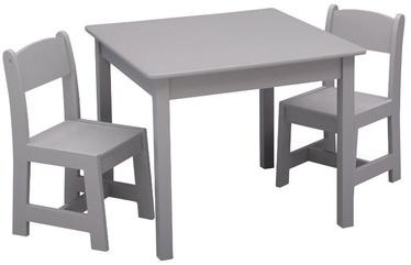 Vaidmenų žaidimas Delta Children MySize Table & Chairs Set Grey
