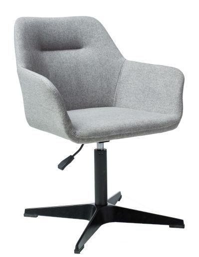 Biroja krēsls Signal Meble Kubo Black Grey