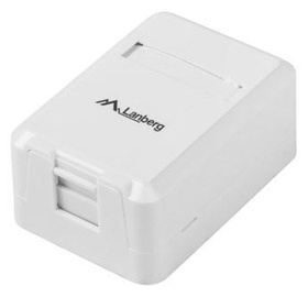 Lanberg Surface Mount Box For Keystone Modules 1-port White