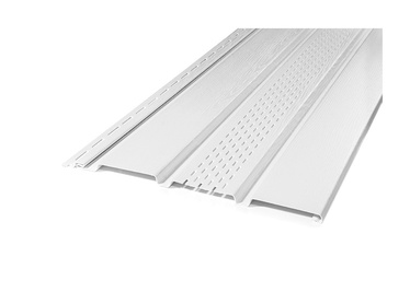 SOFFIT SV-07 PERFORĒTS BALTS 2.7M (VOX)