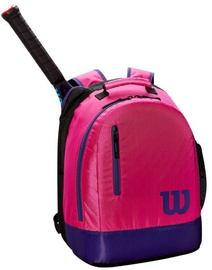 Wilson Youth Backpack Pink/Purple