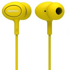 Ausinės Remax RM-515 Headset Yellow