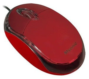 Vakoss MSonic Optical Mouse USB MX264 Red