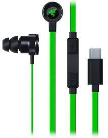 Ausinės Razer Hammerhead Gaming In-Ear Headset Green