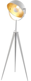 Nino Bowy Floor Lamp 42W E27 White/Gold