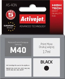 ActiveJet Cartridge AS-40N For Samsung 17ml Black
