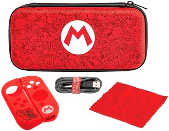 Pdp Starter Kit Mario Edition incl. Case/Power Cable/Joy-Con Grips And Cloth