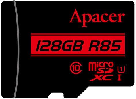 Apacer 128GB microSDXC UHS-I U1 Class 10 + SD Adapter