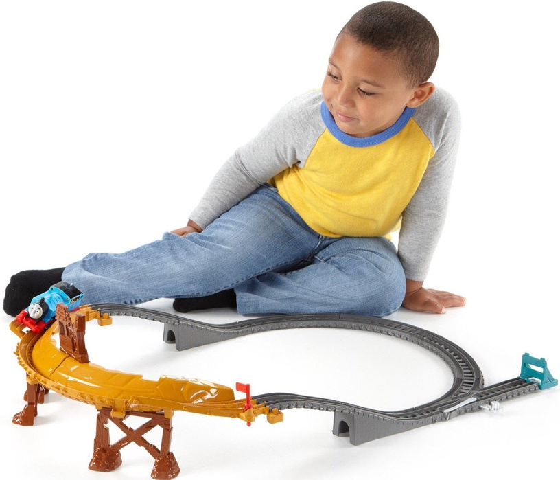 Fisher Price Breakaway Bridge Set CDB59