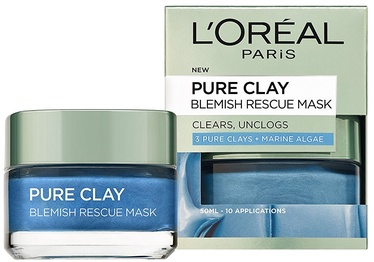 L´Oreal Paris Pure Clay Blemish Rescue Mask 50ml