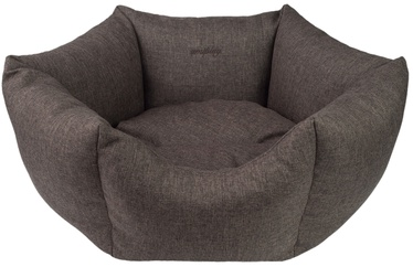 Лежанка Amiplay Palermo Crown Bed L 68x23cm Brown